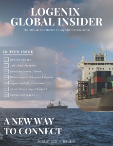August 2021 | Issue 01 of the Logenix Global Insider